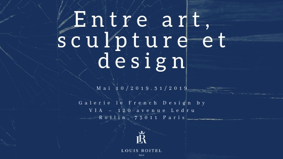exposition entre art sculpture et design haute facture Louis Roitel Artisanat Creation Siege Design Henryot & Cie